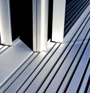 Produit hyline - rail pour fenêtre minimaliste