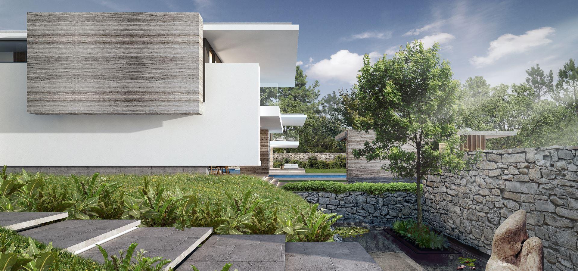 villa saint tropez avec fenêtres minimalistes Hyline