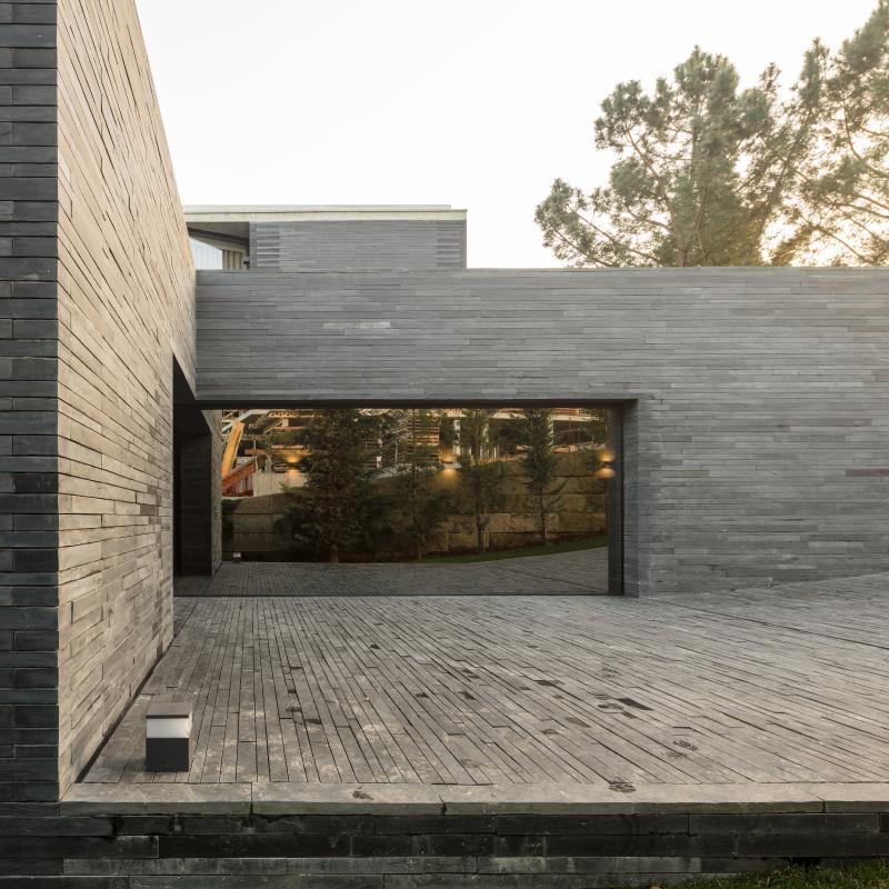 Villa de luxe au fenêtre haut de gamme Hyline