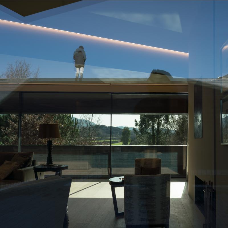 Architecture minimaliste haut de gamme